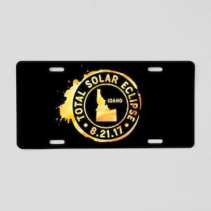 Eclipse Idaho Aluminum License Plate