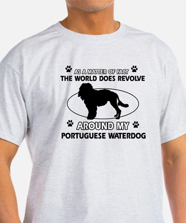 Portuguese water dog funny designs T-Shirt