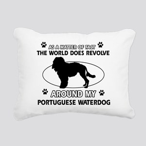 Portuguese water dog funny designs Rectangular Can