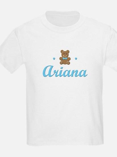 Blue Teddy - Ariana Kids T-Shirt