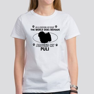 Puli dog funny designs Women's T-Shirt