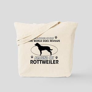 Rottweiler dog funny designs Tote Bag
