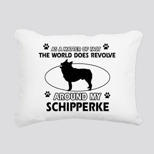 Schipperke dog funny designs Rectangular Canvas Pi