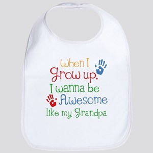 Awesome Like My Grandpa Bib