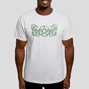 Pretty green pentacle Light T-Shirt