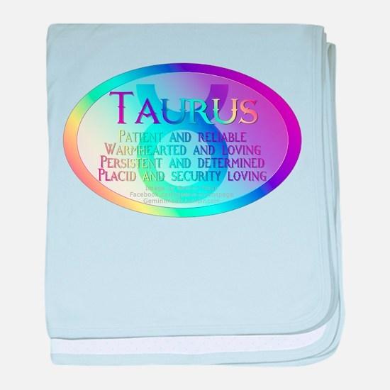 Taurus baby blanket