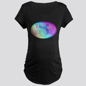 Taurus Maternity Dark T-Shirt