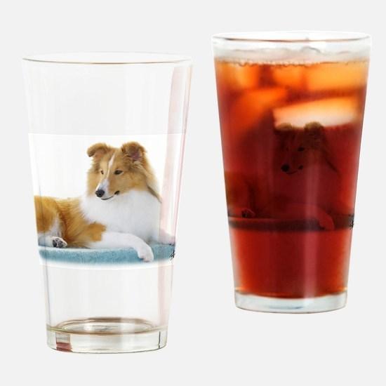 Shetland Sheepdog AF113D-030 Drinking Glass