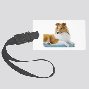 Shetland Sheepdog AF113D-030 Large Luggage Tag