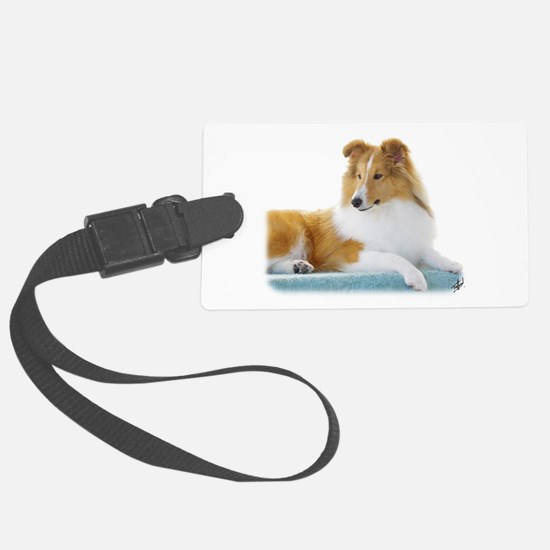 Shetland Sheepdog AF113D-030 Luggage Tag