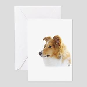 Shetland Sheepdog AF113D-035 Greeting Card
