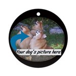 Custom Pet Ornament (Round)