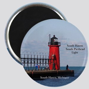 South Haven Pierhead Light Magnets