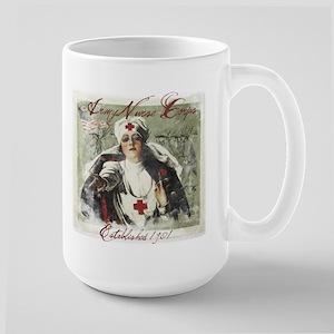 USA Nurse Corps Vintage Poster - Red Mugs