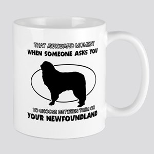 Newfoundland dog funny designs Mug