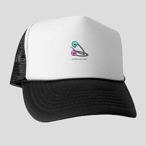"""BadTasteUK """"Safe Sex"""" Trucker Hat"""