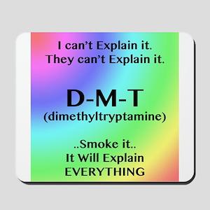DMT Explain Mousepad