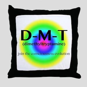 DMT Evolution Throw Pillow