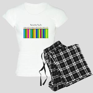 retired Art Teacher 2013 Pajamas
