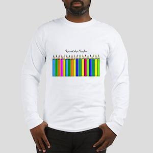 retired Art Teacher 2013 Long Sleeve T-Shirt