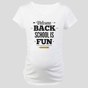 Back To School Maternity T-Shirt