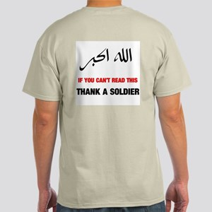 Thank a Soldier Ash Grey T-Shirt