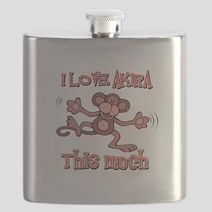 I love Akira Flask