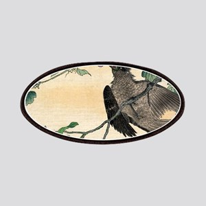 Birds And Flowers - anon - 1900 - woodcut Patch