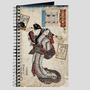 Courtier Teishin -Toyokuni Utagawa - 1843 - woodcu