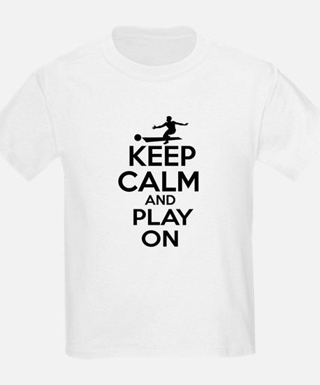 Keep calm and play Bowl T-Shirt