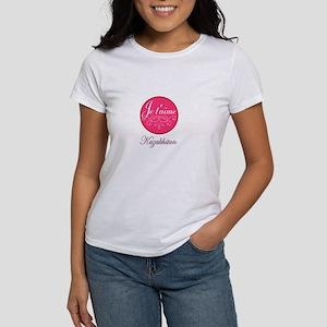 JE TAIME KAZAKHSTAN Women's T-Shirt