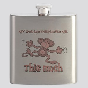 God Mother loves me this much Flask