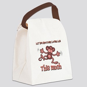 Big Brother loves me this much Canvas Lunch Bag