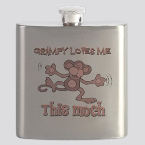Grampy loves me this much Flask