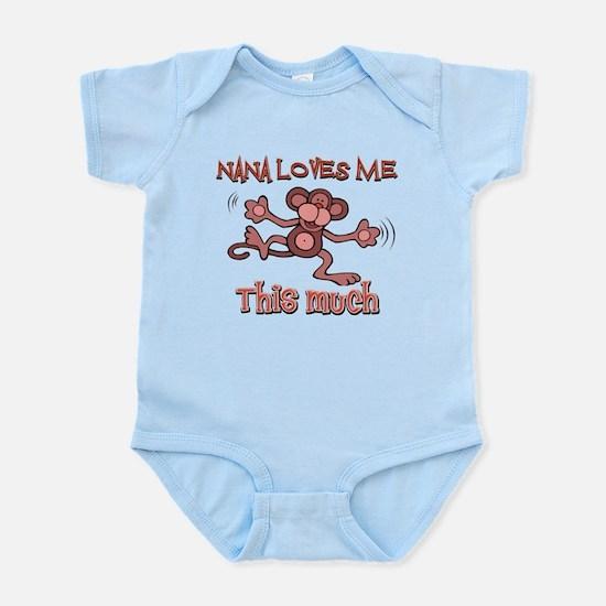 Nana loves me this much Infant Bodysuit