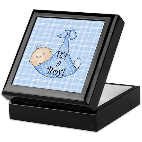 It's a Boy (White) Keepsake Box