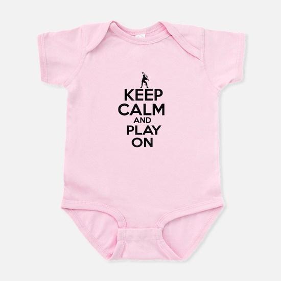 Keep calm and play Squach Infant Bodysuit