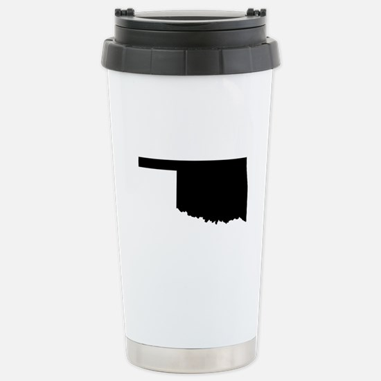 Black Stainless Steel Travel Mug