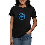 Blue Soccer Ball Women's Dark T-Shirt
