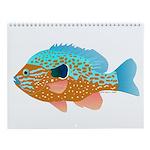 Sunfish, White Bass, Etc. Panfish Wall Calendar