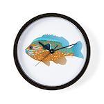 Longear Sunfish fish 2 Wall Clock