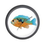 Longear Sunfish fish 2 Wall Clock