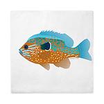 Longear Sunfish fish 2 Queen Duvet