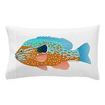 Longear Sunfish fish 2 Pillow Case