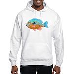 Longear Sunfish fish 2 Hoodie