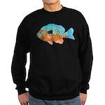 Longear Sunfish fish 2 Sweatshirt