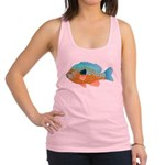 Longear Sunfish fish 2 Racerback Tank Top