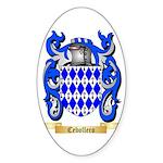 Cebollero Sticker (Oval 50 pk)