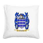 Cebollas Square Canvas Pillow