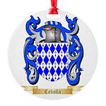 Cebolla Round Ornament